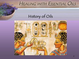 Oil Usage Was Depicted In The Temples In Egypt