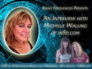 rising frequencies show with michelle walling aug 26