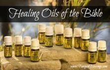 healing oils of the bible