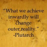 what we change inwardly