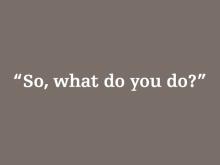 what-do-you-do