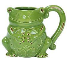 frog tea mug
