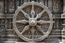 8 spoked wheel