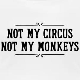 not-my-circus-not-my-monkeys-women-s-t-shirts-women-s-scoop-neck-t-shirt