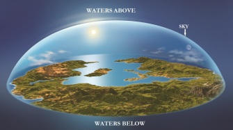 waters above and the waters below