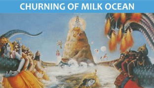 churning of milk ocean
