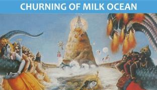 churning of milk ocean